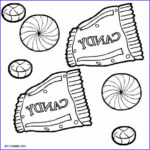 Chocolate Coloring New Photos Printable Candy Coloring Pages For Kids