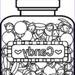 Chocolate Coloring Unique Photos Candyjar5bw Coloring Page Free Candy Coloring Pages