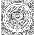 Christian Coloring Book For Adults Inspirational Photos Free Christian Coloring Pages For Adults Roundup