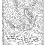 Christian Coloring Book For Adults New Collection Christmas Coloring Page Dove Christian Scripture Adult