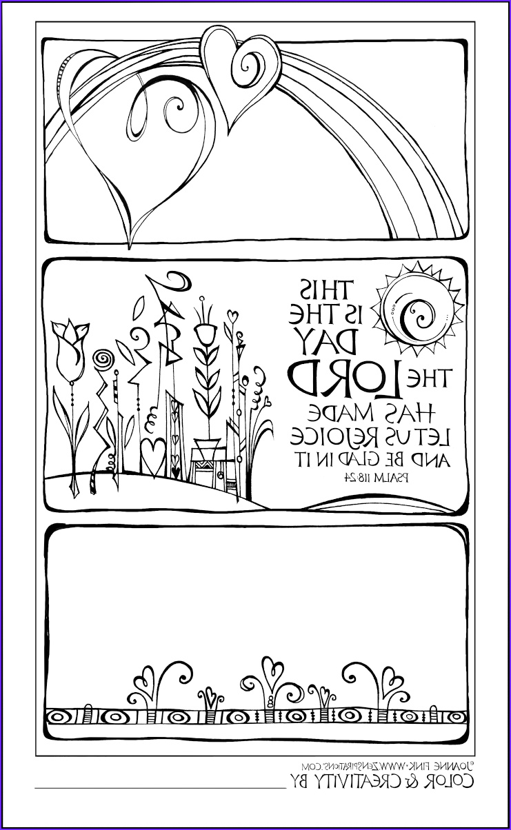 free christian coloring pages adults