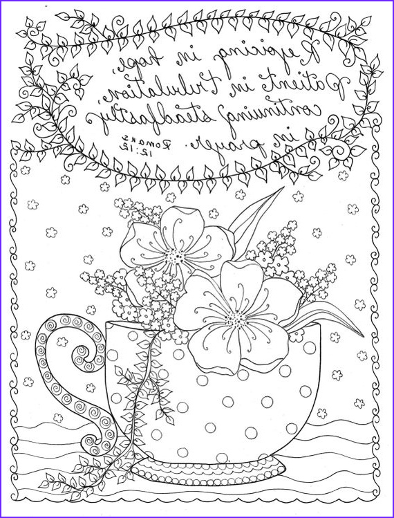 digital coloring page christian coloring