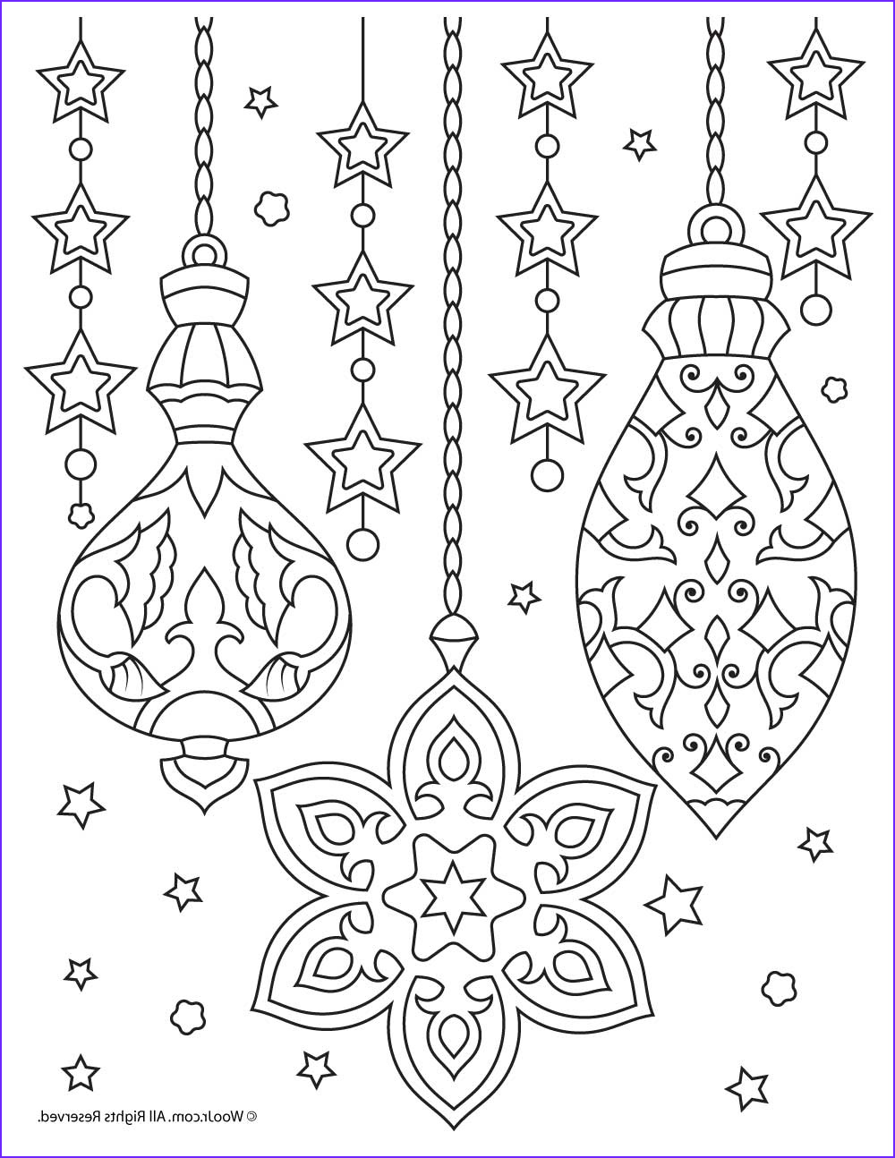 Christmas Adult Coloring Beautiful Images Christmas Ornaments Adult Coloring Printable