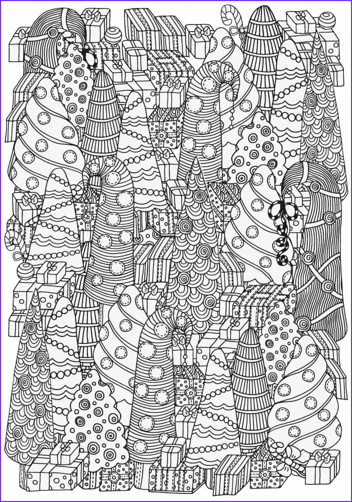 Christmas Adult Coloring Books Best Of Collection 5 Absolutely Free Beautiful Christmas Colouring Pages