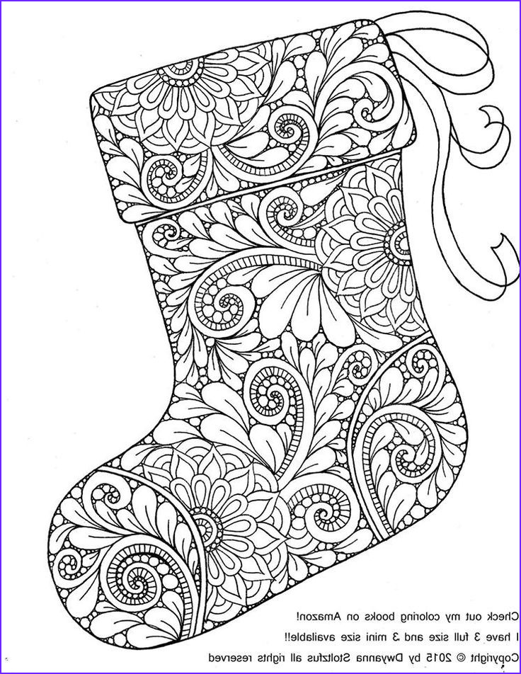 Christmas Adult Coloring Books Inspirational Gallery 441 Best Christmas Coloring Images On Pinterest
