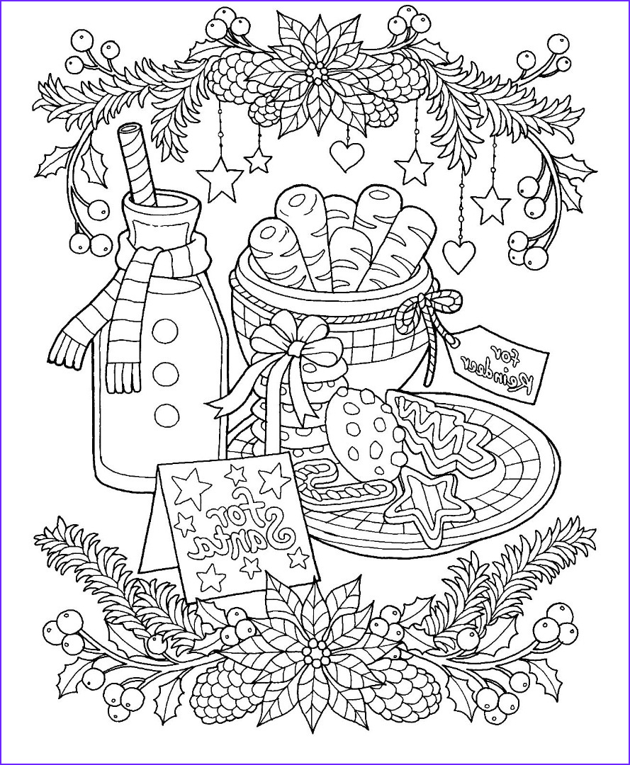 Christmas Adult Coloring Books Luxury Images 12 Christmas Drawing Download Ty
