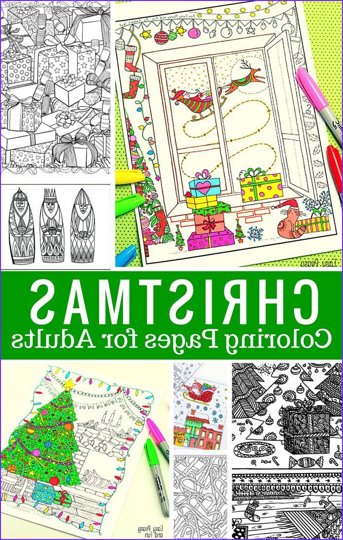 Christmas Adult Coloring Books Luxury Photos Free Printable Christmas Coloring Pages for Adults