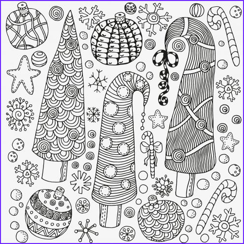 Christmas Adult Coloring Books Unique Gallery 46 Best Advanced Christmas Coloring Images On Pinterest
