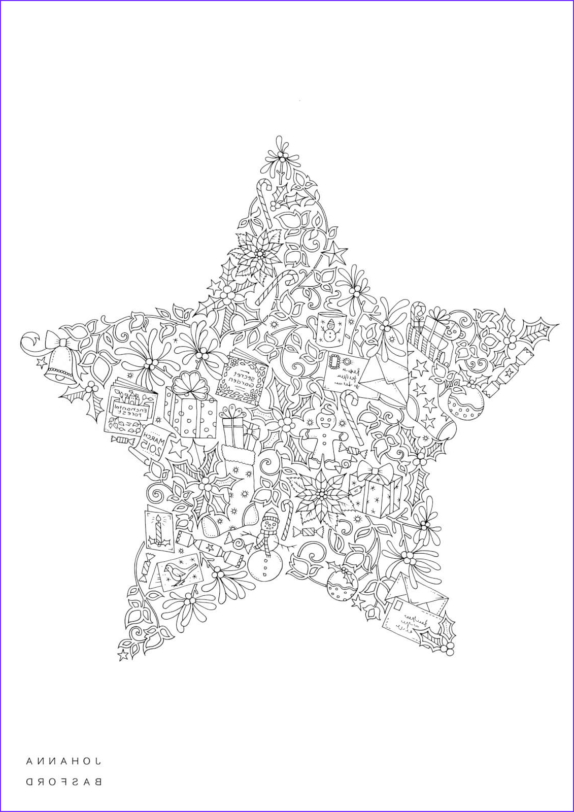 Christmas Adult Coloring Cool Collection 8 Christmas Coloring Pages For Adults
