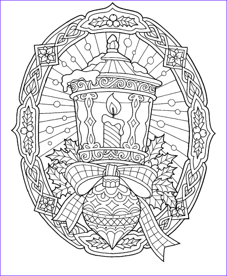 Christmas Adult Coloring Cool Image 12 Free Christmas Coloring Pages Drawings