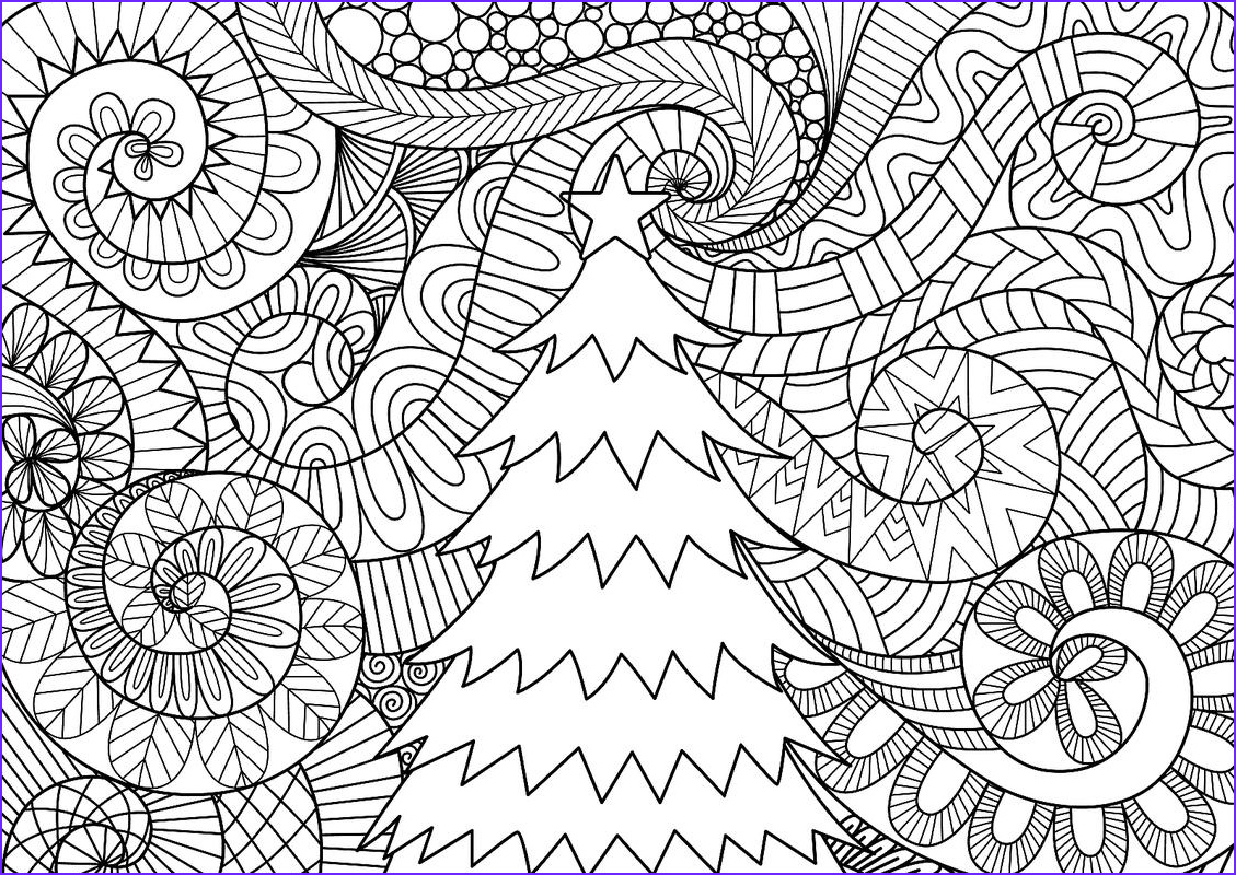 Christmas Adult Coloring Cool Image Christmas Coloring Pages 16 Printable Coloring Pages For