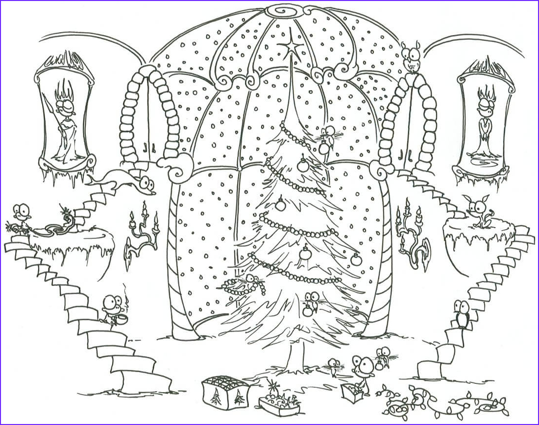 Christmas Adult Coloring Cool Photography Christmas Coloring Pages For Adults Best Coloring Pages