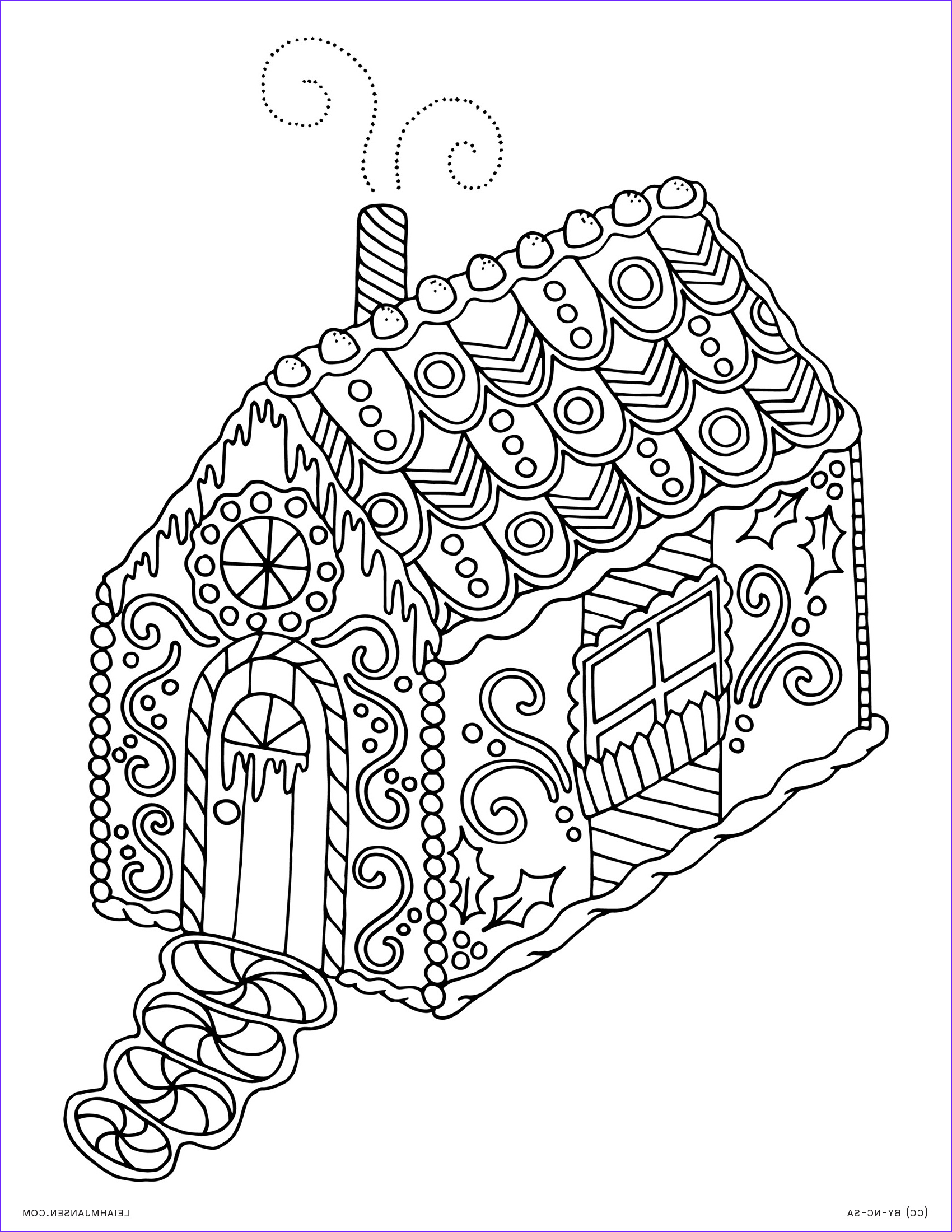 Christmas Adult Coloring Elegant Image Holiday Coloring Pages