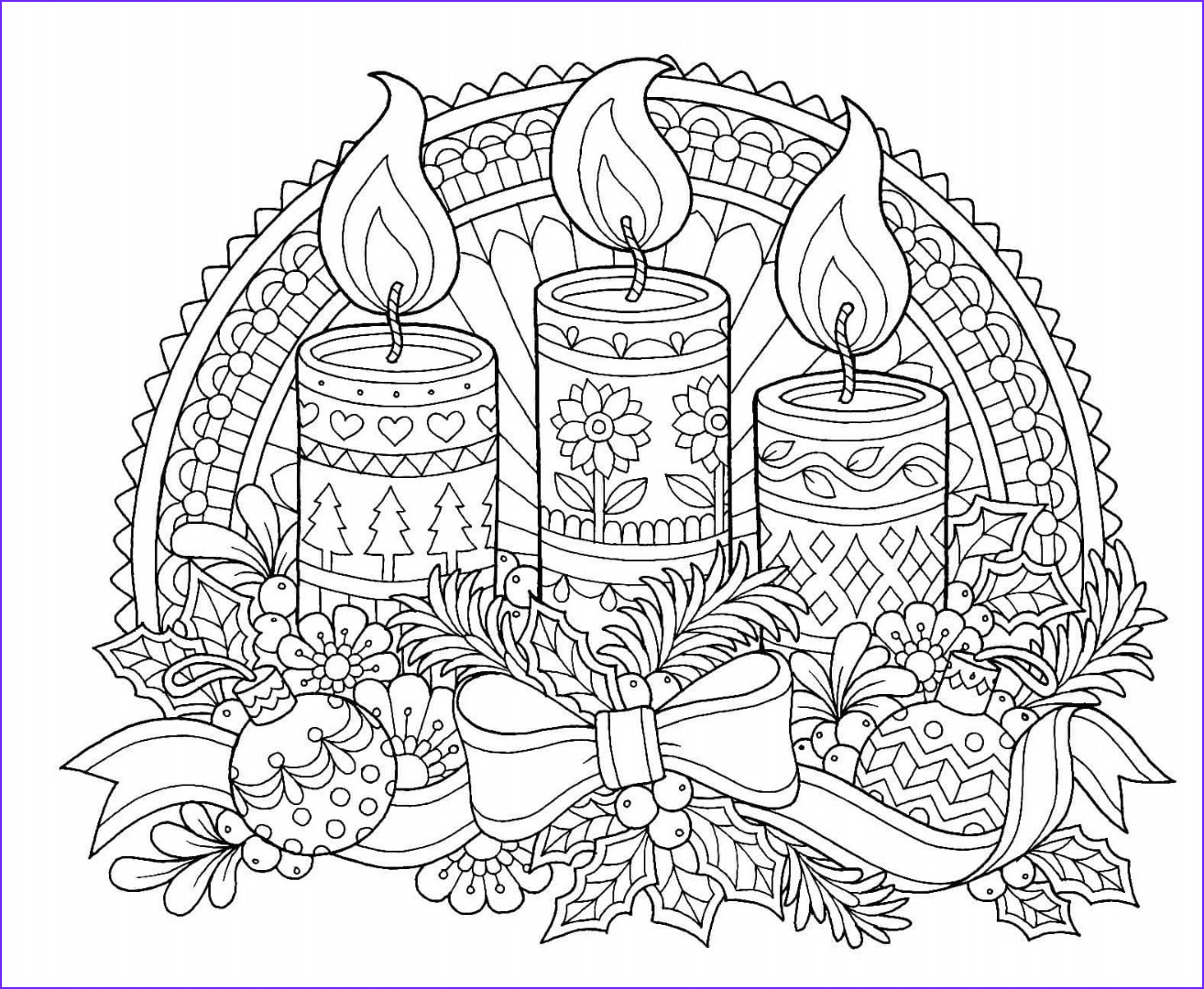 Christmas Adult Coloring Luxury Photography 12 Christmas Drawing Download Ty