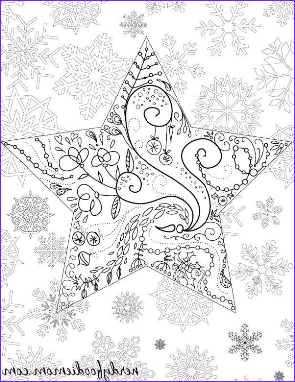 Christmas Adult Coloring Pages Elegant Image 10 Holiday Coloring Pages and Books