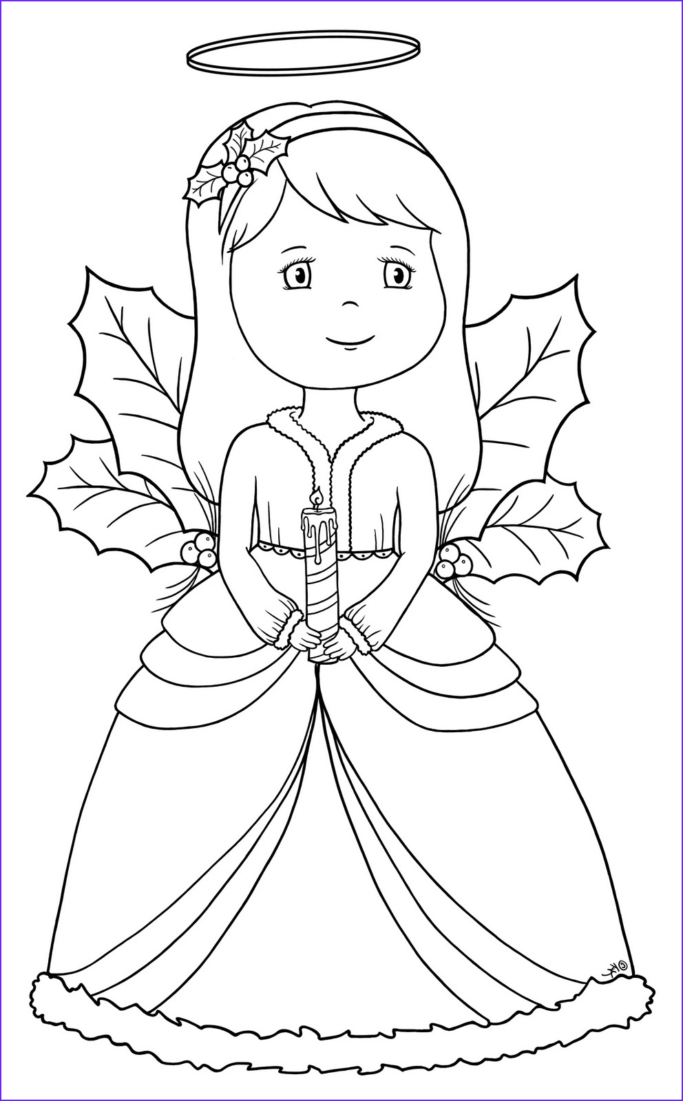 Christmas Angel Coloring Pages Beautiful Collection 1000 Images About Coloring Pages On Pinterest