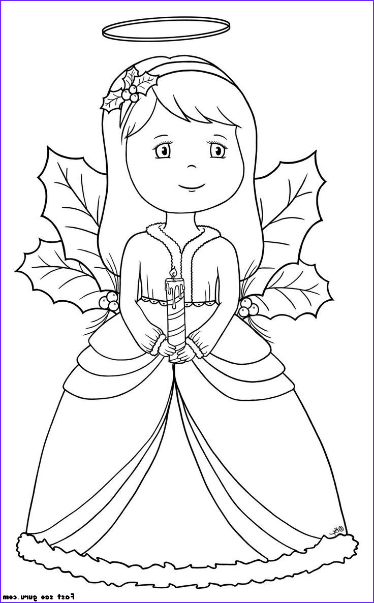 Christmas Angel Coloring Pages Unique Gallery Coloring Pages On Pinterest