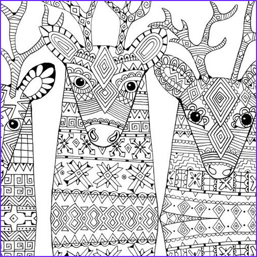christmas coloring pages adults