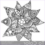 Christmas Coloring For Adults Elegant Images Holiday Christmas Detailed Poinsettia Coloring Page For