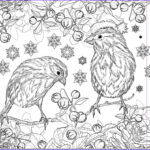 Christmas Coloring For Adults New Collection 194 Best Images About Winter Coloring On Pinterest