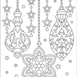 Christmas Coloring For Adults New Image Christmas Ornaments Adult Coloring Printable