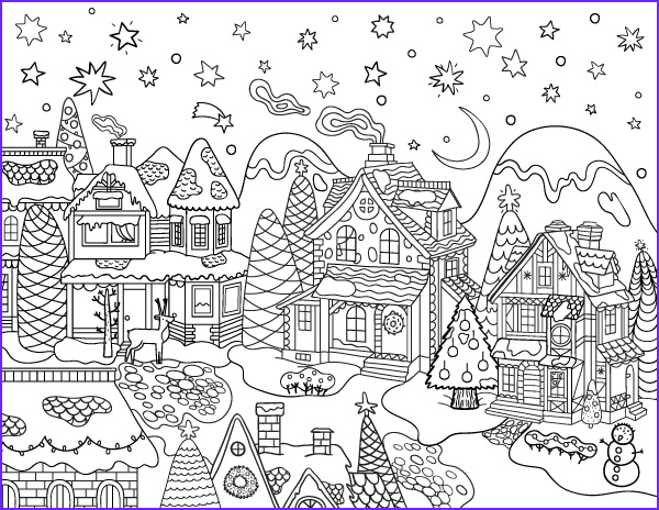 Christmas Coloring for Adults New Photos Pin by Beth Conroy On Coloring Christmas Winter