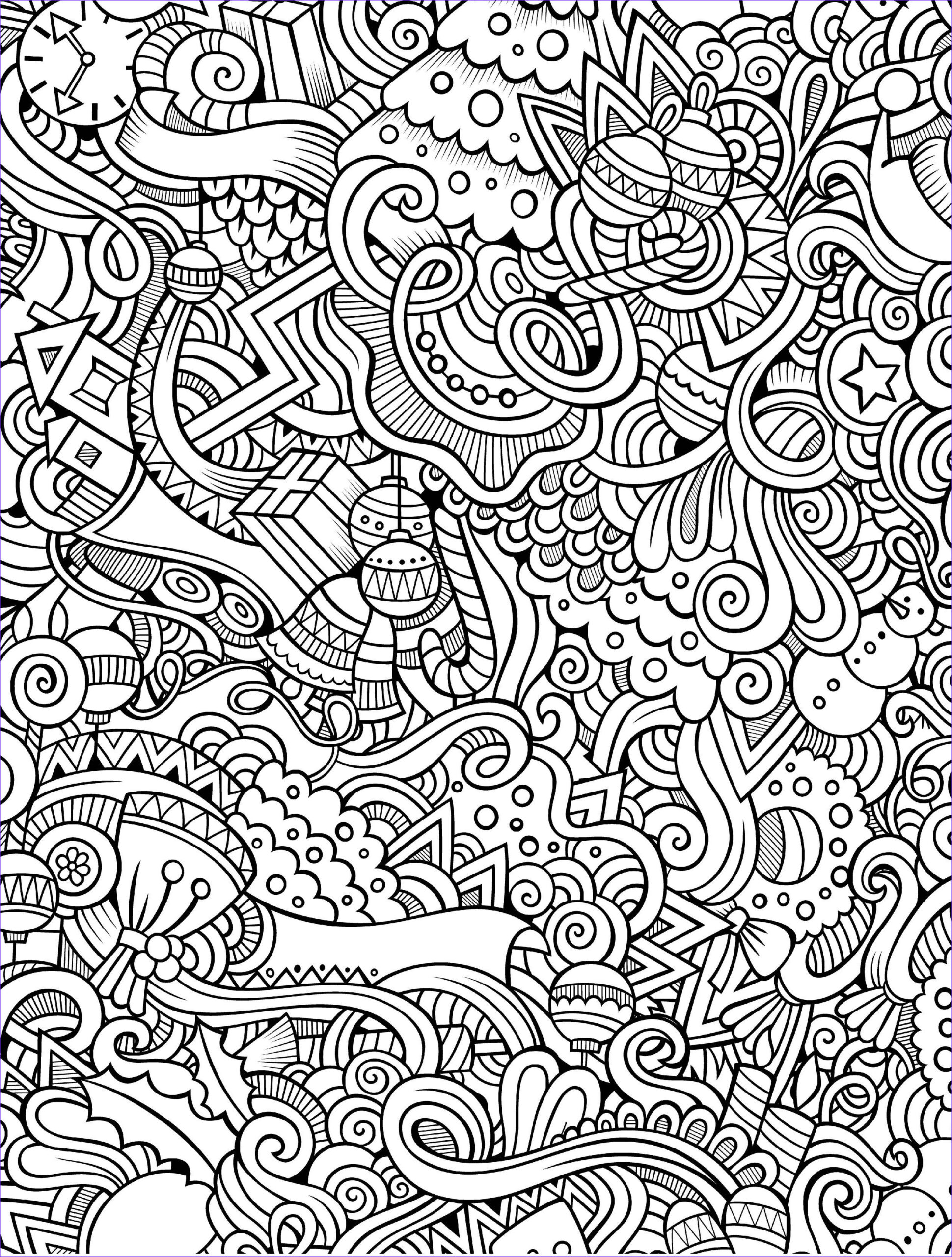 Christmas Coloring Pages Adults Beautiful Photography 10 Free Printable Holiday Adult Coloring Pages