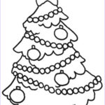 Christmas Coloring Pages Best Of Stock Free Printable Christmas Tree Coloring Pages For Kids