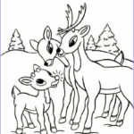Christmas Coloring Pages Printable Free Beautiful Images Free Printable Reindeer Coloring Pages For Kids