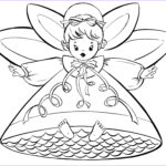 Christmas Coloring Pages Printable Free Elegant Photos Free Christmas Coloring Pages Retro Angels The