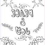 Christmas Coloring Pages Printable Free Elegant Photos Free Printable Christmas Coloring Pages For Adults