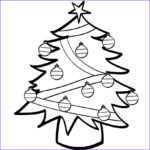 Christmas Coloring Pages Printable Free Luxury Collection Free Printable Christmas Tree Coloring Pages For Kids