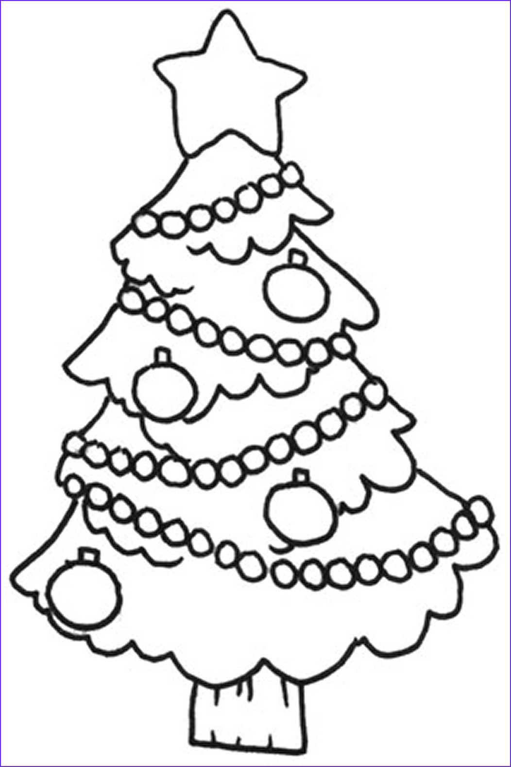 Christmas Coloring Sheets Awesome Photography Free Printable Christmas Tree Coloring Pages for Kids