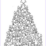 Christmas Tree Coloring Pages For Adults Awesome Photos Christmas Tree Adult Coloring Pages