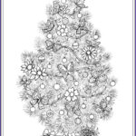 Christmas Tree Coloring Pages For Adults Beautiful Gallery 14 Best Adult Coloring Pages Christmas Trees Images On