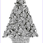 Christmas Tree Coloring Pages For Adults Beautiful Images Christmas Printable Coloring Page Tree