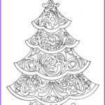 Christmas Tree Coloring Pages For Adults Elegant Photos 22 Christmas Coloring Books To Set The Holiday Mood