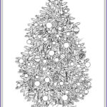 Christmas Tree Coloring Pages For Adults Inspirational Gallery 1694 Best Coloring Pages Holiday Images On Pinterest