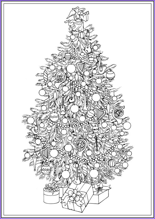 coloring pages holiday