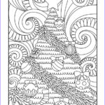 Christmas Tree Coloring Pages For Adults New Photography Free Printable Christmas Coloring Pages • Paint By Number