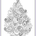 Christmas Tree Coloring Pages For Adults Unique Photos 14 Best Adult Coloring Pages Christmas Trees Images On