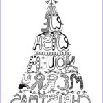 Christmas Tree Coloring Pages For Adults Unique Photos 216 Best Paper Christmas Crafts Images On Pinterest