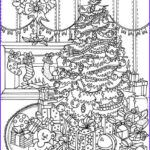Christmas Tree Coloring Pages For Adults Unique Photos Christmas Joy Beautiful Christmas Tree Printable Adult
