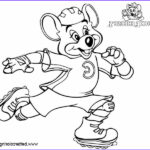 Chuck E Cheese Coloring Page Awesome Stock Chuck E Cheese Coloring Pages Roller Skating Free
