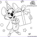 Chuck E Cheese Coloring Page Elegant Photography Chuck E Cheese Coloring Pages Birthday Gift Free