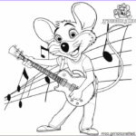 Chuck E Cheese Coloring Page New Gallery Chuck E Cheese Coloring Pages Line Drawing Free