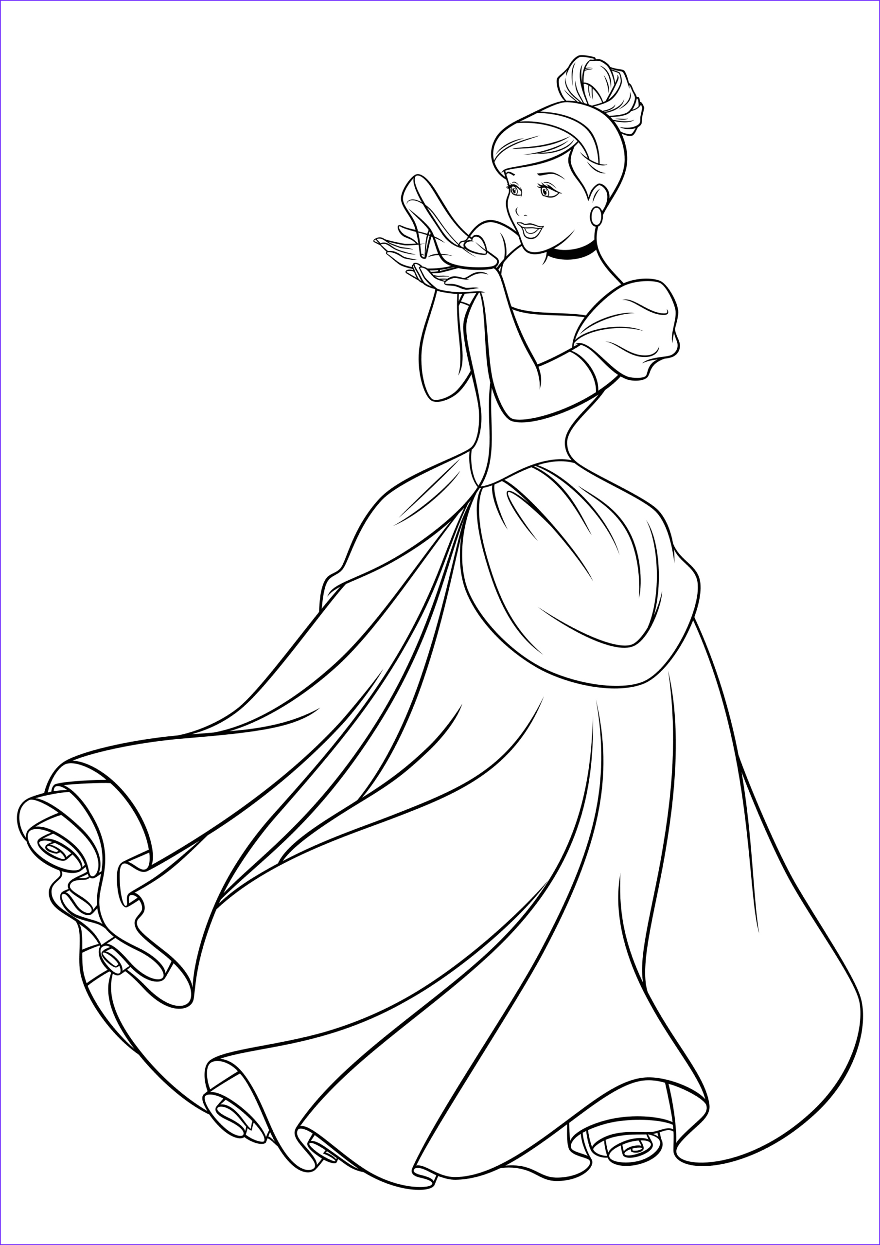 Cinderella Coloring Pages Cool Collection Cinderella Coloring Pages to and Print for Free