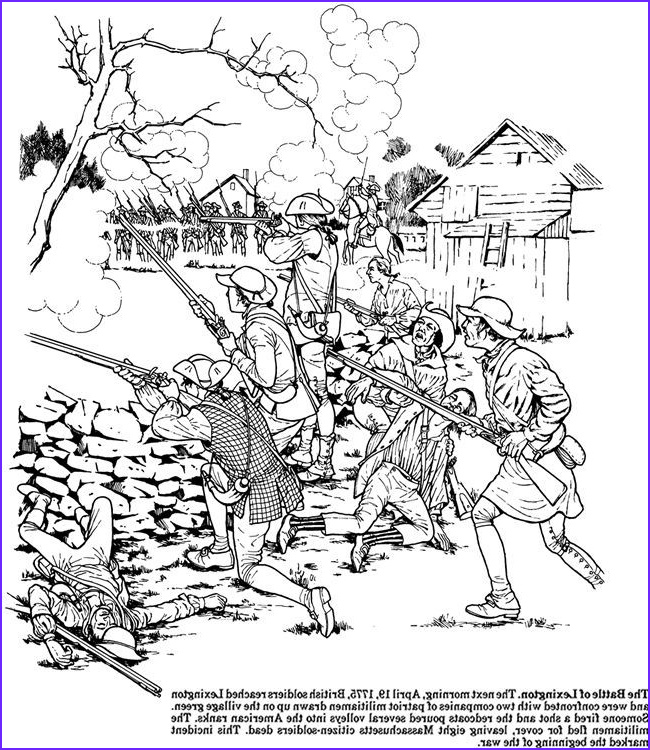 free coloring page boston tea party