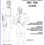 Civil War Coloring Book Inspirational Gallery Fashionable Lady Paper Dolls In Black And White