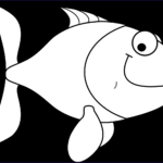 Clip Art Coloring Pages Beautiful Photos Fish Coloring Pages For Kids 14 Pics How To Draw In 1